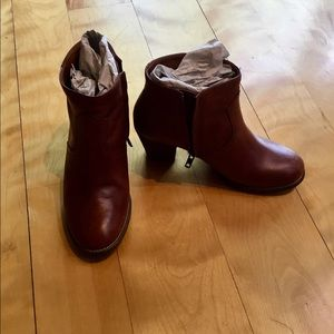Madewell zip code booties US 6.5
